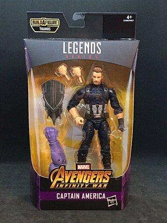 Captain America  Marvel Legends Series | Avengers Infinity War - Best of 2019 - Baf Monte o Thanos
