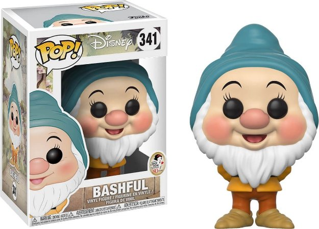 Funko Pop Disney Bashful Branca de Neve  #341
