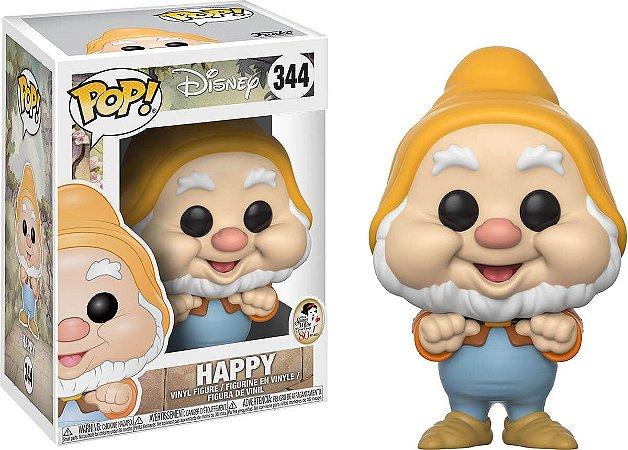 Funko Pop Disney Happy Branca de Neve  #344