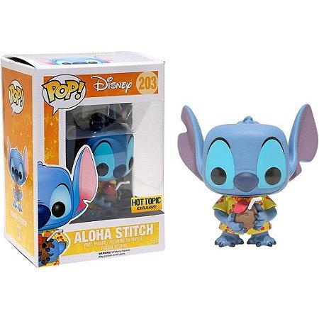 Funko Pop Disney Lilo & Stitch: Aloha Stitch Exclusive #203