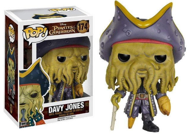 Funko Pop Disney: Pirates of The Caribbean - Davy Jones #174
