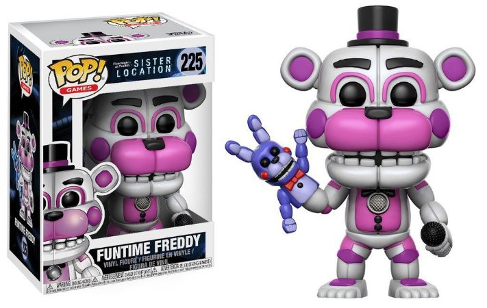 Funko Pop Five Nights at Freddy´s - Funtime Freddy  (Sister Location)    #225
