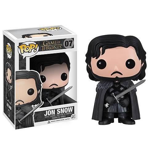 Funko Pop Game Of Thrones Jon Snow #07