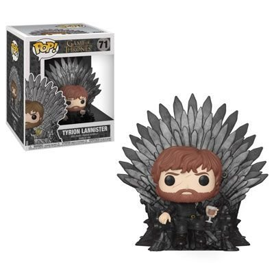 Funko Pop Game of Thrones Tyrion Lannister (Iron Throne)  #71