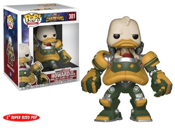 Funko Pop Games: Contest Of Champions - Howard The Duck #301