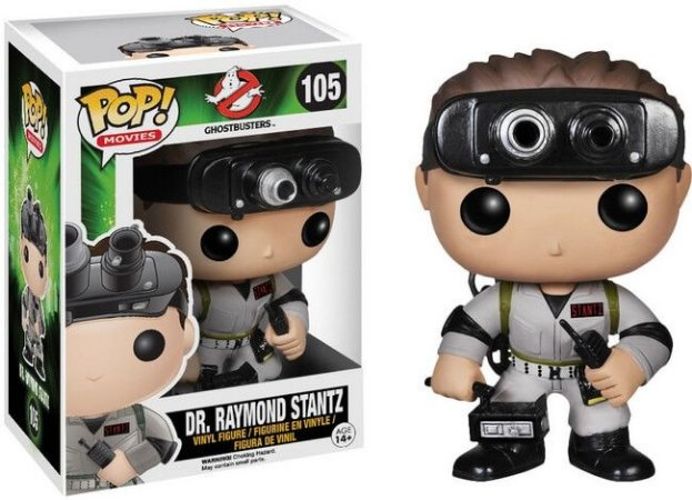 Funko Pop Ghostbusters Dr. Raymond Stantz #105