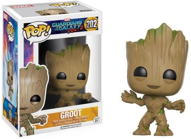 Funko Pop Guardians Of The Galaxy Volume 2  - Groot #202
