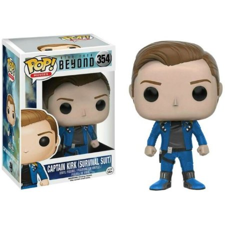 Funko Pop Movies: Star Trek Beyond - Captain Kirk (Survival Suit) #354
