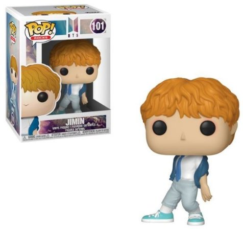 Funko Pop Rocks: BTS - Jimin #101