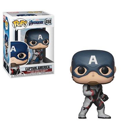 Funko Pop Vingadores Ultimato (Avengers Endgame): Capitão América (Captain America) #450