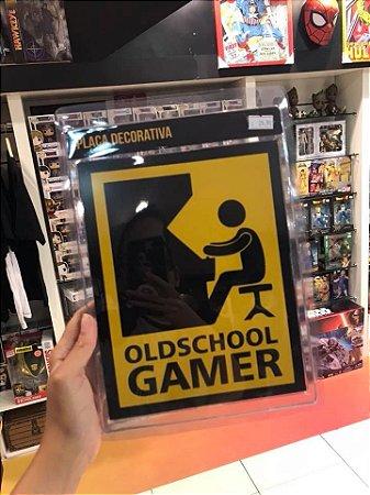 Gamer - Placa Decorativa