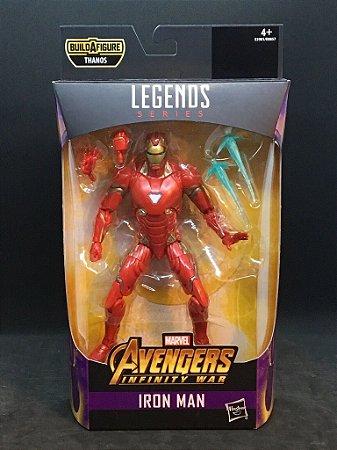 Iron Man Marvel Legends Series | Avengers Infinity War - Best of 2019 - Baf Monte o Thanos