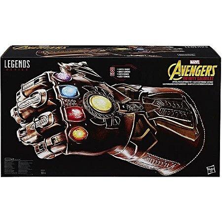 Manopla do Infinito Thanos Marvel Legends Infinity Gauntlet Vingadores
