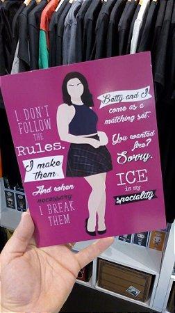 Placa decorativa Riverdale Veronica Lodge Quotes