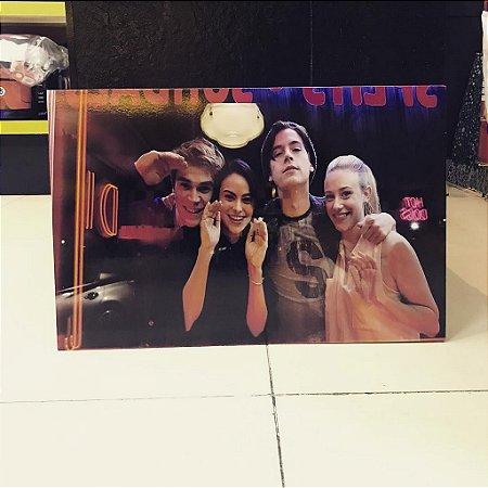 Quadro Riverdale - Quarteto Mdf 40x60