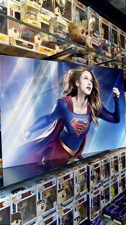 Quadro Supergirl Mdf 40x60 cm poster