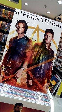 Quadro Supernatural Sean Dean Mdf 40x60 cm poster