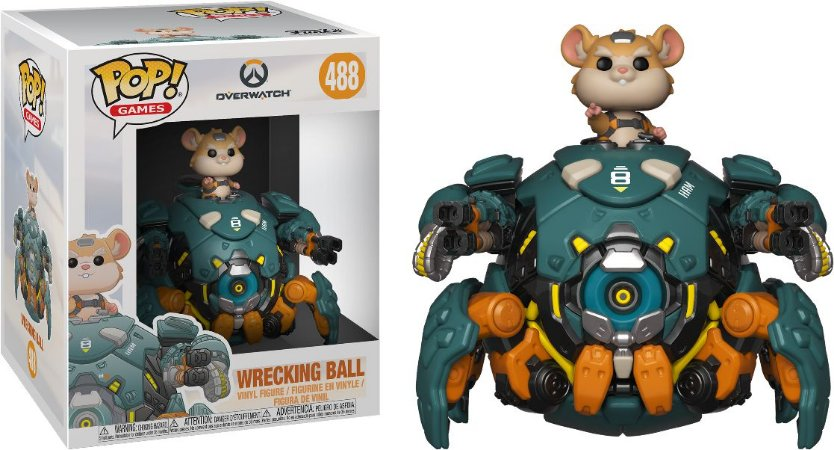 funko pop wrecking ball-#488