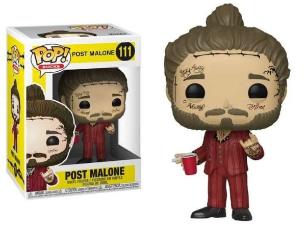 Funko Pop Rocks: Post Malone - Post Malone #111