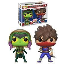 Funko Pop Games: Marvel Vs Capcom - Gamora Vs Strider #2Pack