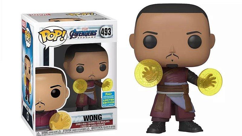 Funko Pop Avengers Endgame  Marvel - Wong - Exclusivo SDCC 2019  #493