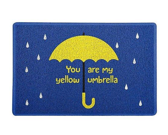 Capacho 60x40cm Yellow Umbrella  - How I Met Your Mother