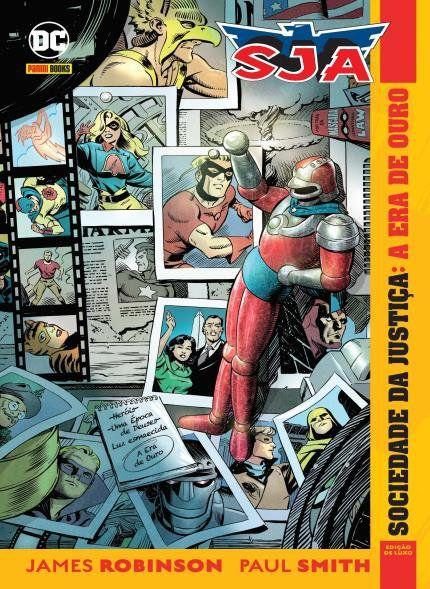 Sociedade da Justiça: A Era de Ouro - VOL.1 - DC Comics