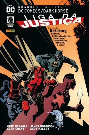 Grandes Encontros: Liga da Justiça - VOL.1 - DC Comics