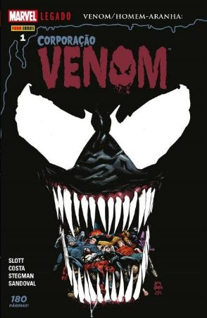 Venom/Homem-Aranha: Corporação Venom - VOL.1 - MARVEL Comics