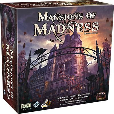 Board Game: Galápagos Jogos - Masion Of Madness