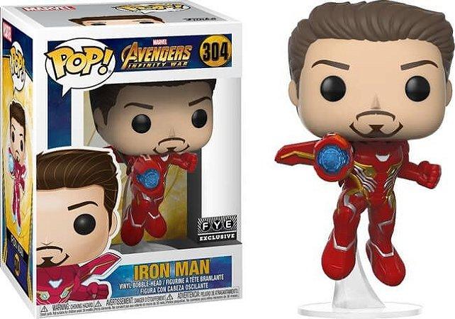 Funko Pop: Avengers Infinity War - Iron Man (Exclusivo) #304