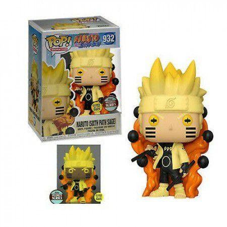 Funko Pop Animation: Naruto Shippuden - Naruto Six Path (Exclusivo) #932