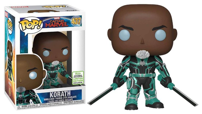 Funko Pop: Captain Marvel - Korath (Exclusive) #437