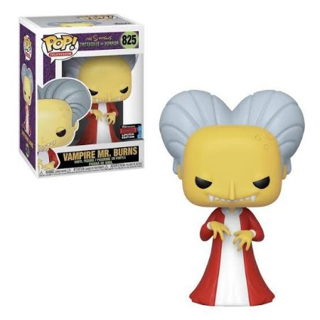 Funko Pop Television: The Simpsons - Vampire Mr. Burns (Exclusive) #825