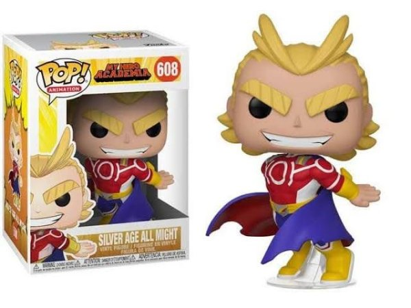 Funko Pop Animation: My Hero Academia - Silver Age All Might #608