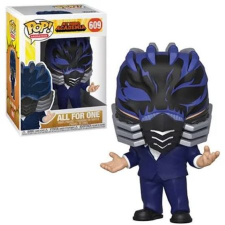 Funko Pop Animation: My Hero Academia - All For One #609