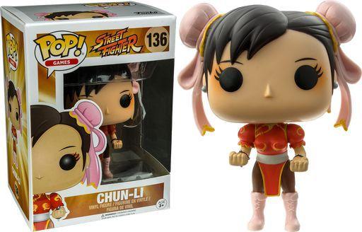Funko Pop Games: Street Fighter - chun-li #136 (Excl.)