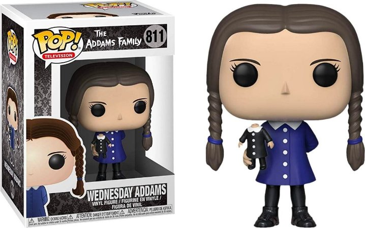 Funko Pop Television: The Addams Family - Wednesday Addams #811