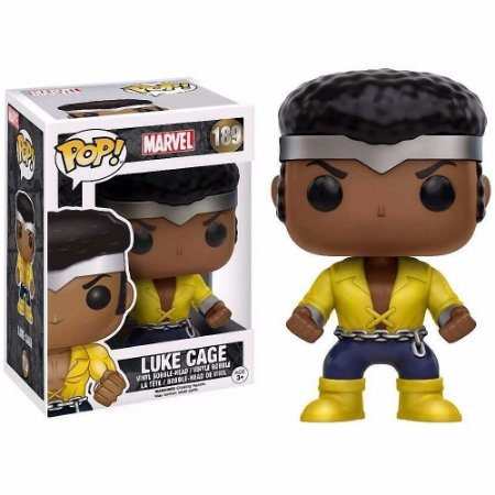 Funko Pop: Marvel - Luke Cage #189 Exclusivo