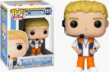 Funko Pop Rocks: NSYNS - Justin Timberlake #111