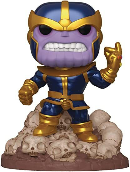 Funko Pop Marvel: Thanos Snapping Fingers *Excl* *6 Inch* #556