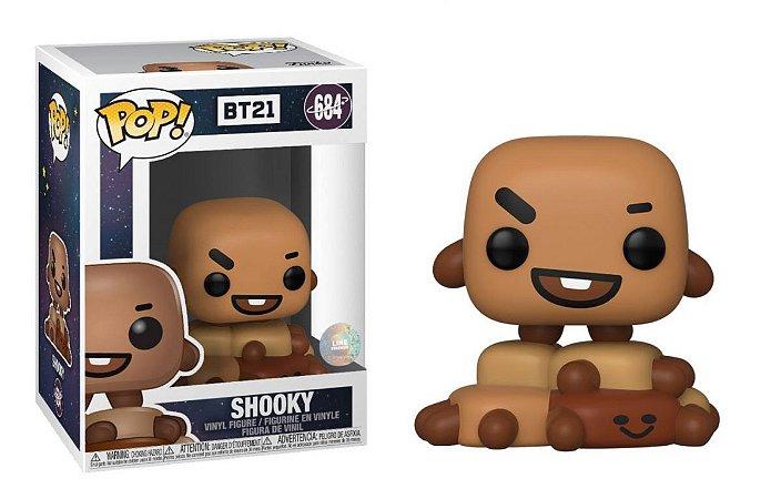 Funko Pop Rocks: BT21 - Shooky #684