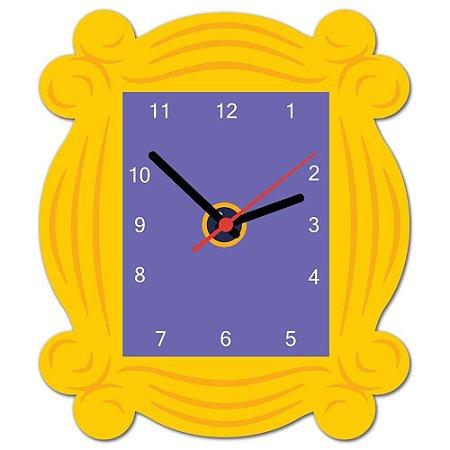 Relógio de parede Friends Moldura