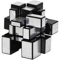 "Cubo "" Mágico Profissional MIRROR BLOCKS PRATEADO"