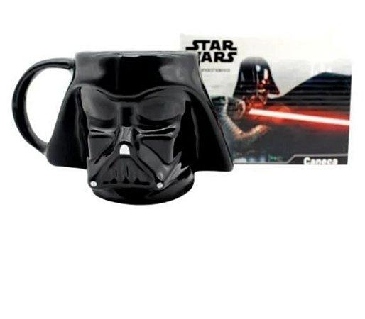 Caneca Star Wars 3D Darth Vader Zona Criativa Disney Oficial