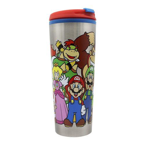 Mario Smash Bros - Copo Térmica