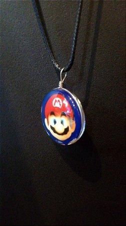 Mario Bros Colar - Modelo 1