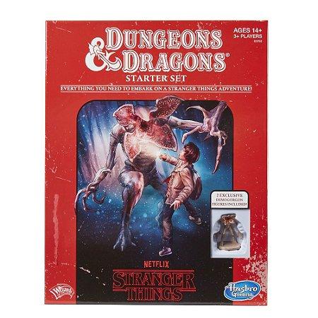 Board Game: Stranger Things Dungeons & Dragons Rpg Starter Set