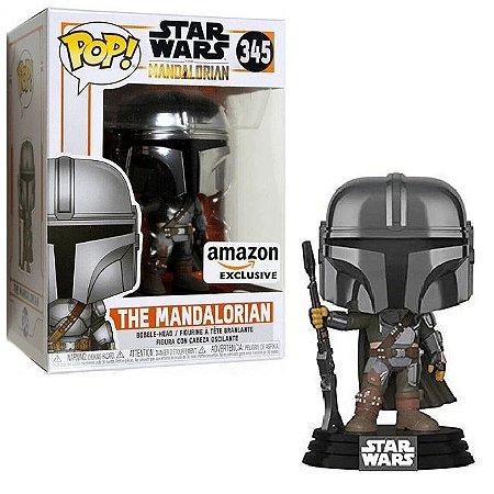 Funko Pop! Star Wars: The Mandalorian - The Mandalorian (Amazon) Excl. #345