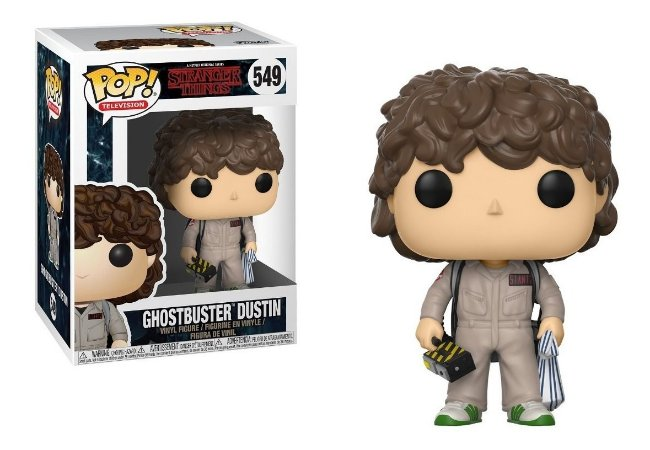 Funko Pop! Television: Stranger Things - Ghostbuster Dustin #549